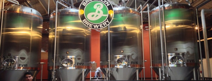 Brooklyn Brewery is one of NYC.