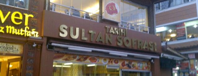 Tarihi Sultan Sofrası is one of Orte, die Cem gefallen.