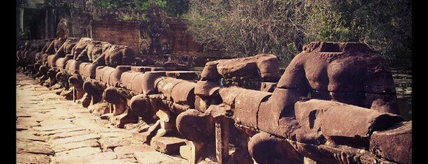 Preah Khan is one of Siem Reap, Cambodia.