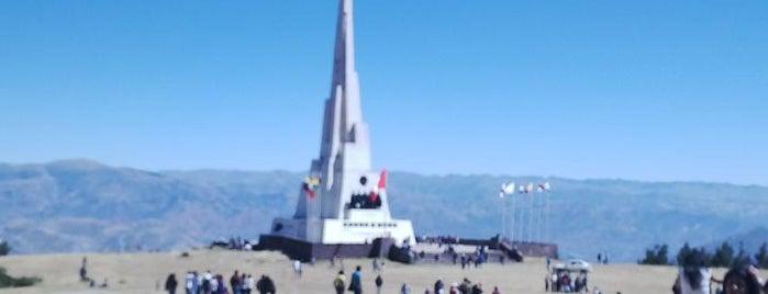 Pampa De La Quinua is one of Perú 02.