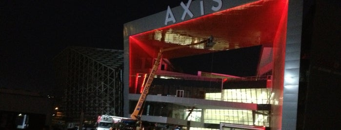 Axis is one of istanbul avm.