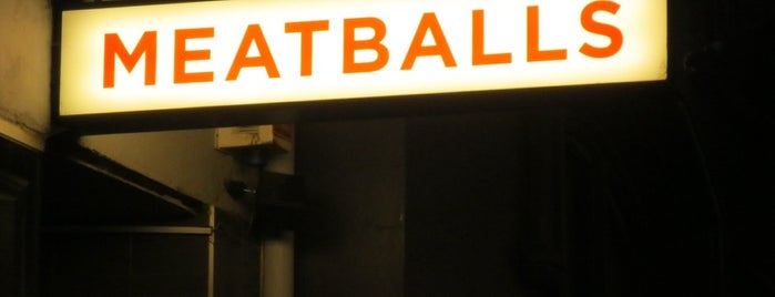 The Meatball & Wine Bar is one of Melbourne 3000.