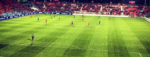 BMO Field is one of Soccer Stadiums.