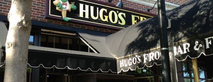 Hugo's Frog Bar & Fish House is one of Tempat yang Disimpan Ike.