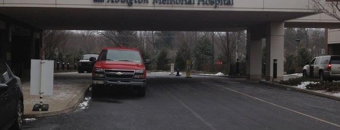 Abington Memorial Hospital is one of Orte, die Brett gefallen.