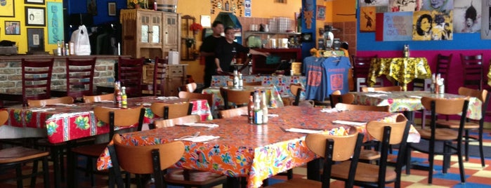 Cempazuchi Comida Brava is one of Diners, Drive-Ins, and Dives.