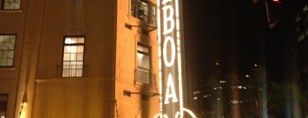 The Balboa Theatre is one of Historian 2.