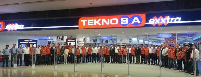 Teknosa is one of Orte, die ENES gefallen.