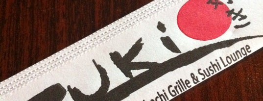 Zuki Japanese Grill and Sushi is one of Extranjia.