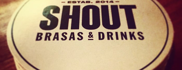 SHOUT | Brasas & Drinks is one of Cocktails.
