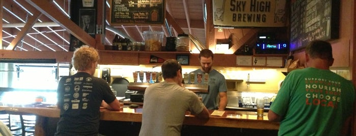 Sky High Brewing is one of Lugares favoritos de Noland.