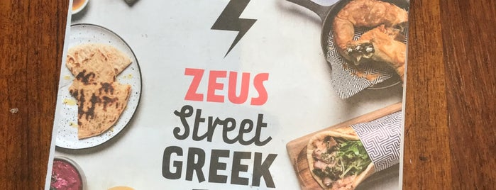 Zeus Street Greek is one of Lugares favoritos de Greg.