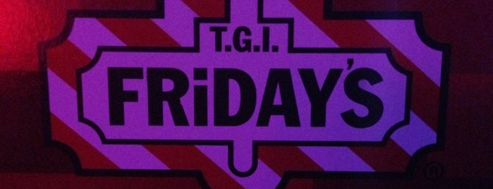 TGI Friday's is one of Lieux sauvegardés par zanna.