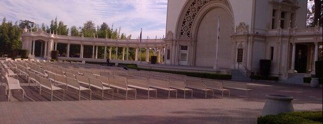 Balboa Park Recital Hall is one of Locais curtidos por Elaine.