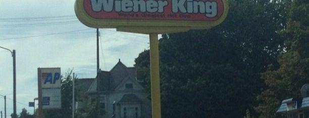 Wiener King is one of Hot Dogs.