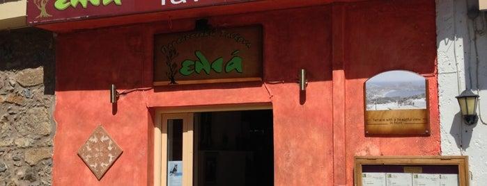 Elia is one of Crete.
