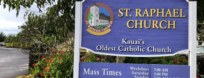 St Raphael's Catholic Church is one of Kauai To-Do's.