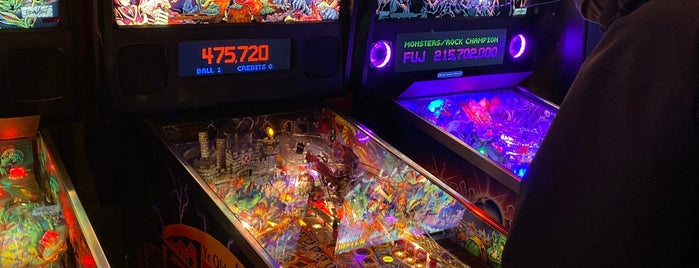 Quazar's Arcade is one of Victoria BC.
