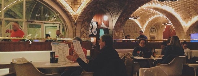 Grand Central Oyster Bar is one of TODO New York City.