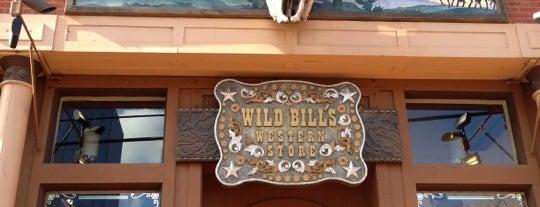 Wild Bill's Western is one of Dallas.