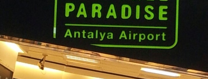 Duty Free Store Terminal 1 is one of AntaLya :)).