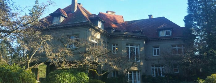 Pittock Mansion is one of Portlandia.