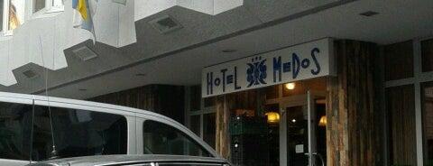 Medosz Hotel is one of Budapest.