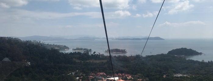 SkyTrail, Panorama Langkawi is one of สถานที่ที่บันทึกไว้ของ Christina.