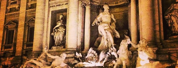 Trevi-fontein is one of roma 2015.