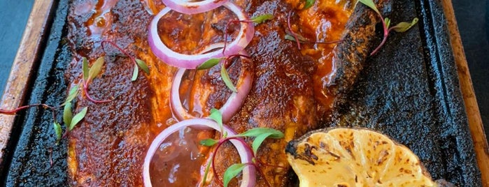 Entre Fuegos is one of Df Steakhouse, Internacional.