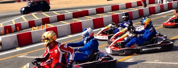 Kartdrome at Autodrome is one of #myhints4Dubai.