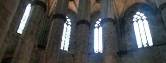 Basílica de Santa María del Mar is one of lugares donde me siento bien LA BARCELONA OCULTA.