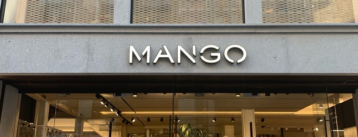 Mango is one of Tiendas.