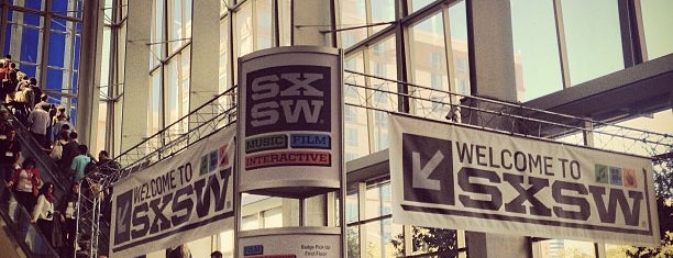 Austin Convention Center is one of SXSW.