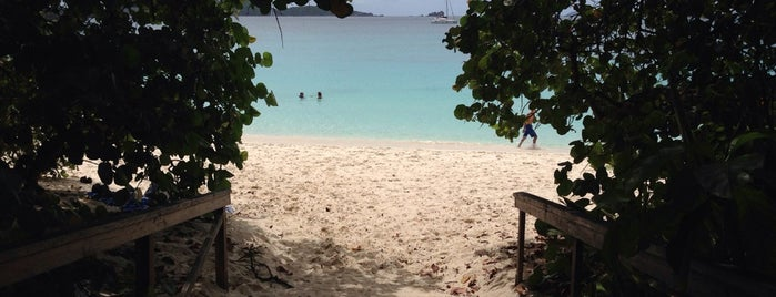 Trunk Bay is one of 101 Places to Take Your Family in the U.S..