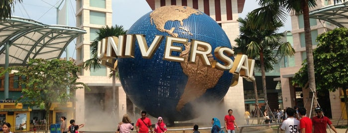 Universal Studios Singapore is one of World Heritage Sites List.