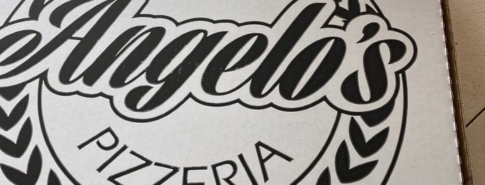 Angelo's Pizzeria is one of Food to Try - Not NY.