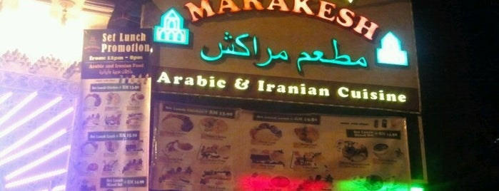 Marakesh: Arab Moroccan Restaurant is one of Middle East.