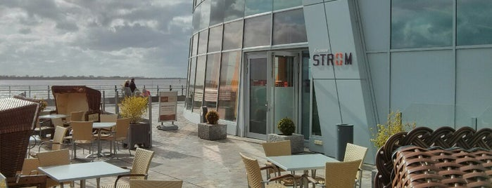 Restaurant STROM im ATLANTIC Hotel SAIL City is one of Locais curtidos por Tino.