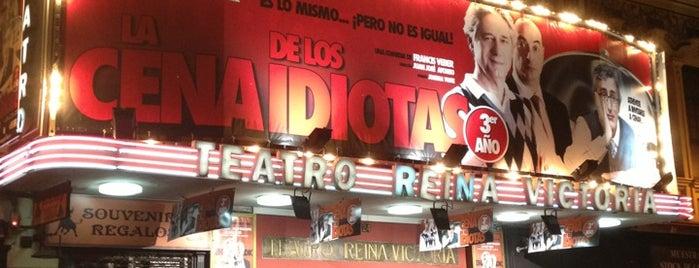 Teatro Reina Victoria is one of Madrid: Teatros.