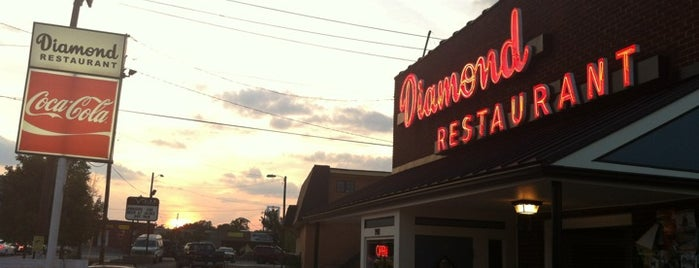 Diamond Restaurant is one of 4w to NC.
