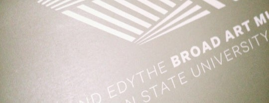 Eli & Edythe Broad Art Museum is one of museums, art, design, architecture.