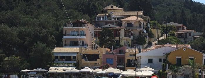 Lakka Port is one of Corfu, Greece.