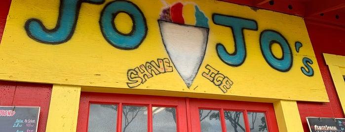 Jo Jo's Shave Ice is one of สถานที่ที่บันทึกไว้ของ Bob.