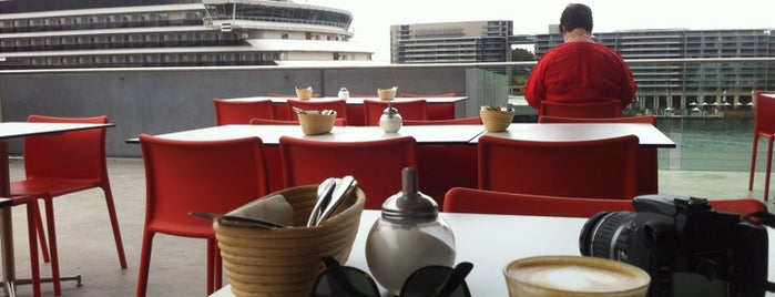 The MCA Cafe & Sculpture Terrace is one of Sydney Entertainment Book Card 13/14.