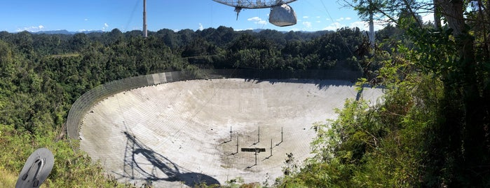 Arecibo Observatory is one of Puerto Rico.