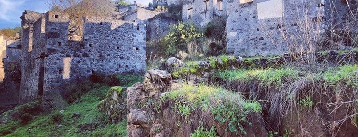 Kayakoy Tarihi Eski Rum Evleri is one of Fethiye/Meğri ⛵️.