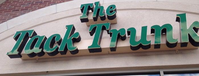 The Tack Trunk is one of Orte, die Doug gefallen.