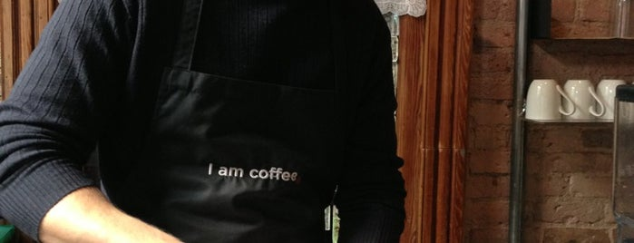 I Am Coffee is one of Best in NYC coffee.
