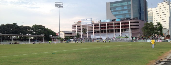 Stadium Hang Tuah is one of Attraction Places to Visit.